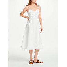 Buy Great Plains Lagos Sun Dress, White Online at johnlewis.com
