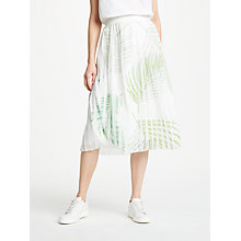 Buy Great Plains Palm Camo Breeze Skirt, Multi Online at johnlewis.com