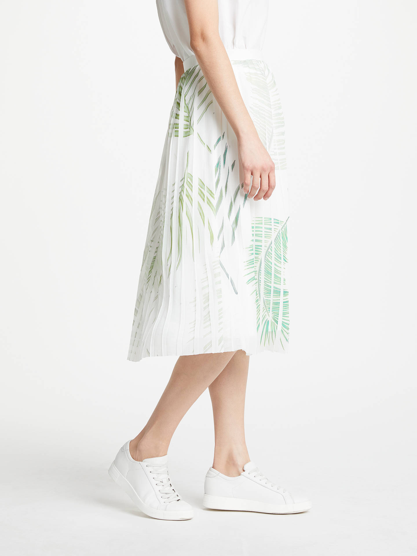 BuyGreat Plains Palm Camo Breeze Skirt, Multi, 8 Online at johnlewis.com