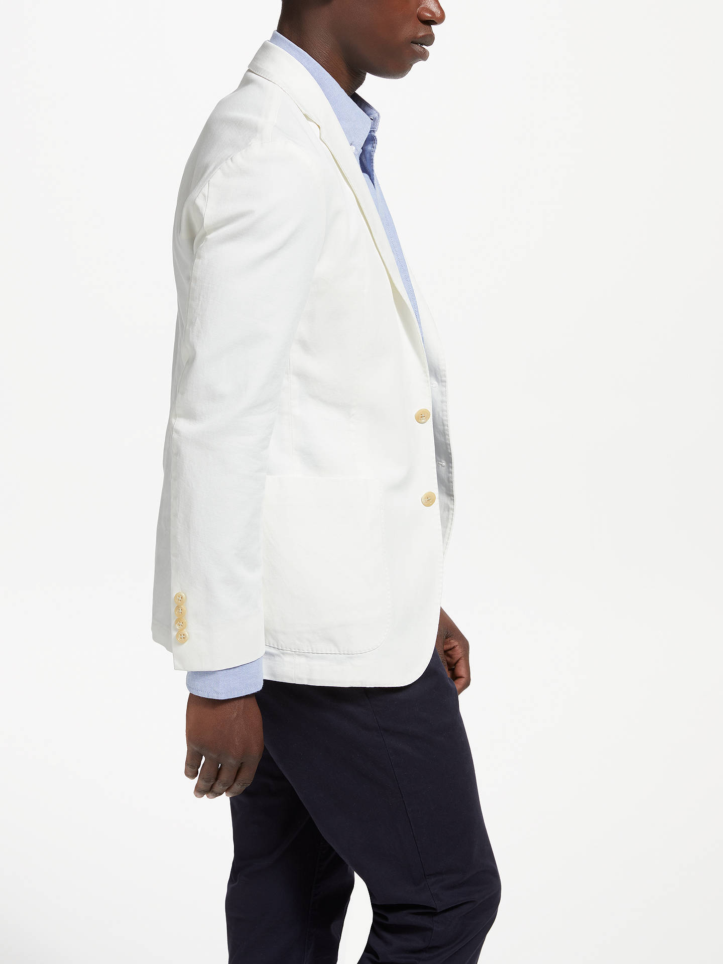 BuyPolo Ralph Lauren Sports Coat, Off White, 38R Online at johnlewis.com