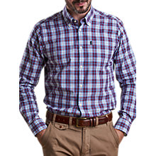 Buy Barbour Leo Long Sleeve Check Shirt, Multi Online at johnlewis.com