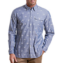 Buy Barbour Beacon Print Shirt, Chambray Online at johnlewis.com