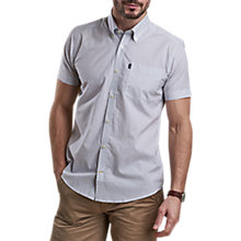 Buy Barbour Theo Micro Print Tailored Shirt Online at johnlewis.com