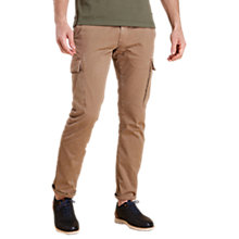 Buy Barbour Land Rover Defender Cargo Trousers, Stone Online at johnlewis.com