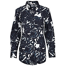 Buy Finery Cotman Charcoal Floral Shirt, Multi Online at johnlewis.com