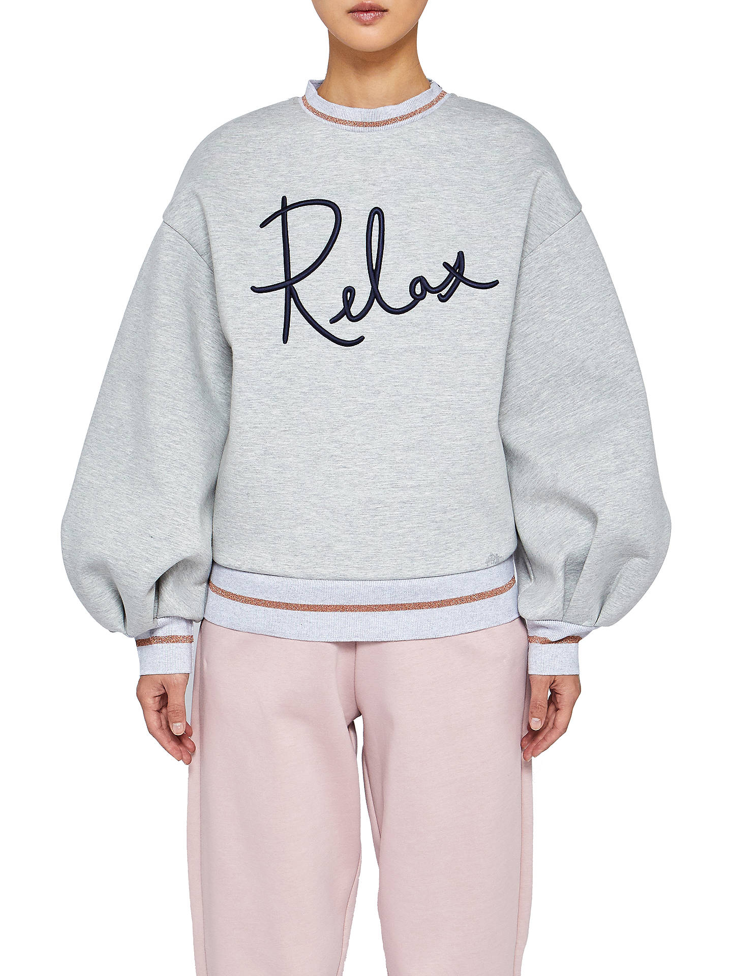 4ef4080a7 Buy Ted Baker Ted Says Relax Rylieei Logo Sweatshirt