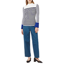 Buy Finery Fairbridge Ribbed Stripe Knit Jumper, Multi Online at johnlewis.com