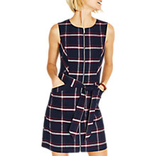 Buy Oasis Check Dress, Multi Online at johnlewis.com