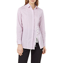 Buy Finery Grainger Stripe Shirt, Pink Online at johnlewis.com