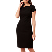 Buy Hobbs Daniella Dress, Black Online at johnlewis.com