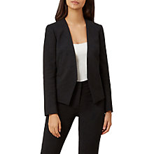 Buy Hobbs Alessia Jacket, Black Online at johnlewis.com