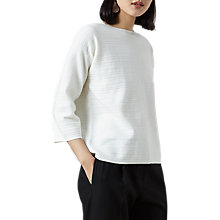 Buy Finery Miles Boxy Jumper, Ivory Online at johnlewis.com