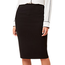 Buy Hobbs Daniella Skirt, Black Online at johnlewis.com