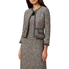 Buy Hobbs Lucia Jacket, Black/Multi Online at johnlewis.com
