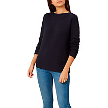 Buy Hobbs Nessie Jumper, Navy Online at johnlewis.com
