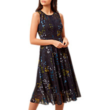 Buy Hobbs Liza Dress, Navy/Multi Online at johnlewis.com