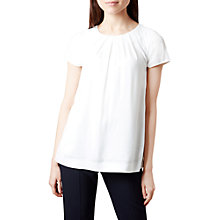 Buy Hobbs Shauna Top, Ivory Online at johnlewis.com