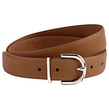 Buy Hobbs Leather Hannah Belt Online at johnlewis.com
