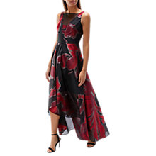 Buy Coast Isla Printed Maxi Dress, Red/Black Online at johnlewis.com