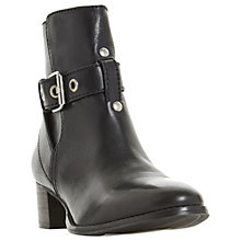 Buy Dune Perrie Block Heel Ankle Boots Online at johnlewis.com