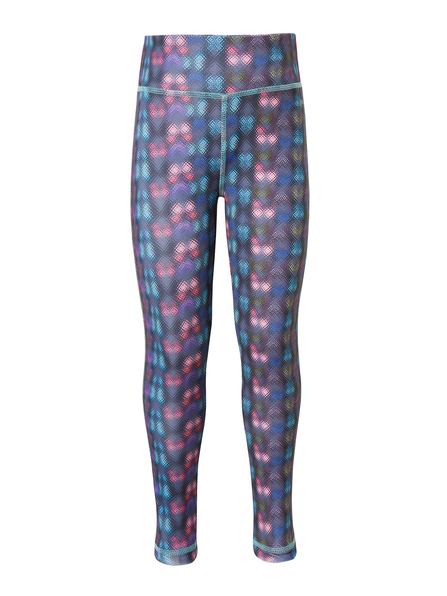 Buy John Lewis & Partners Girls' Geo Multi Sports Leggings, Multi, 3 years Online at johnlewis.com