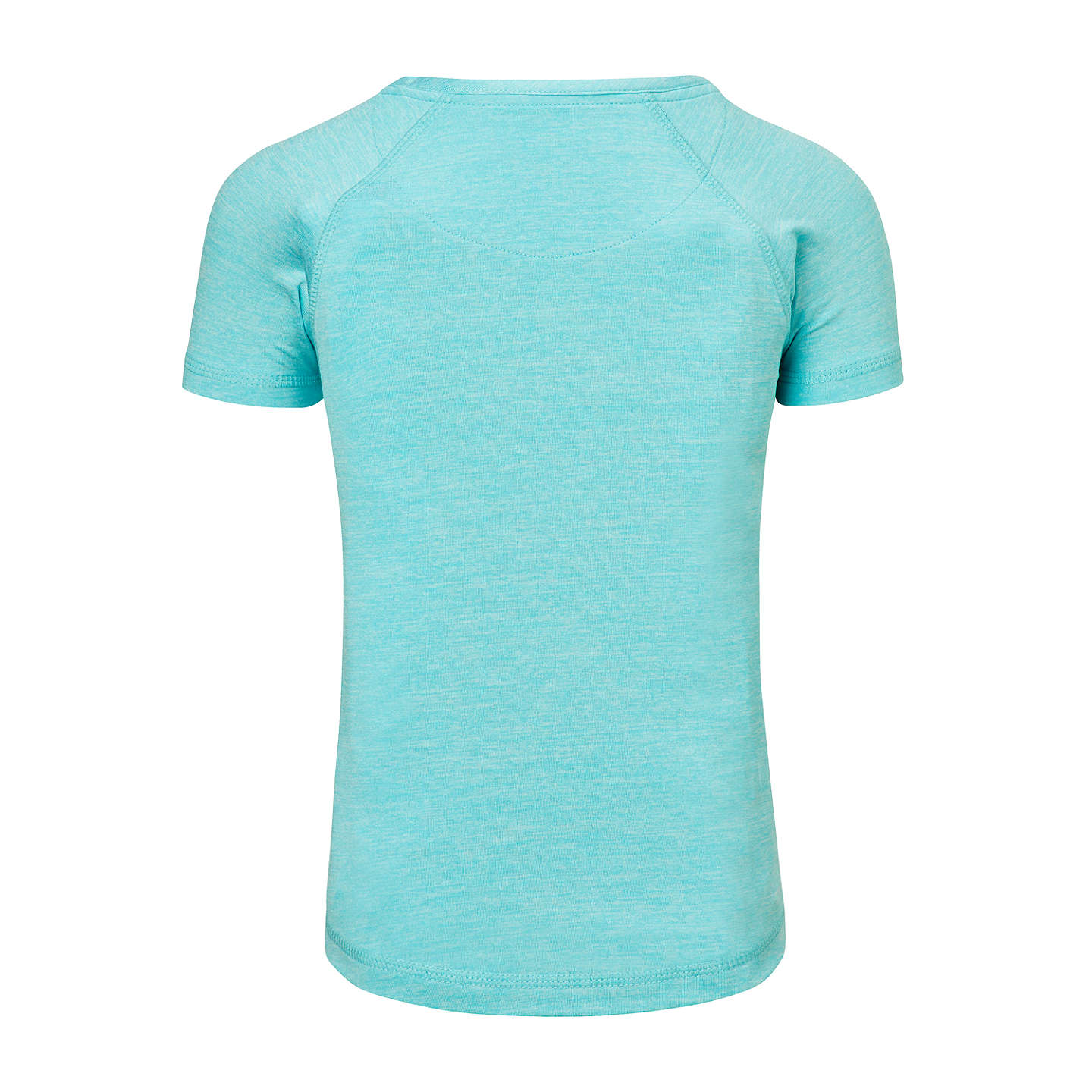 BuyJohn Lewis Girls' Short Sleeve Sports T-Shirt, Turquoise, 3 years Online at johnlewis.com