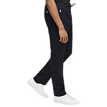 Buy Reiss Godes Drawstring Trousers, Navy Online at johnlewis.com