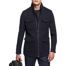 Buy Reiss Chiltern Four Pocket Jacket, Navy Online at johnlewis.com