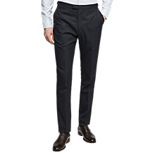 Buy Reiss Daze Textured Wool Slim Fit Suit Trousers, Navy Online at johnlewis.com