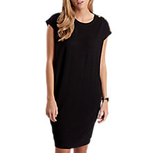 Buy Barbour International Bearings Dress, Black Online at johnlewis.com