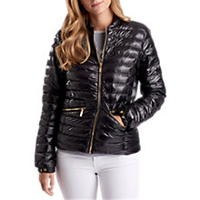 Buy Barbour International Lapper Quilted Jacket, Black Online at johnlewis.com