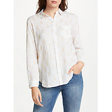 Buy Rails Charli Shirt, Gold Pineapples Online at johnlewis.com