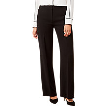 Buy Hobbs Daniella Trousers, Black Online at johnlewis.com