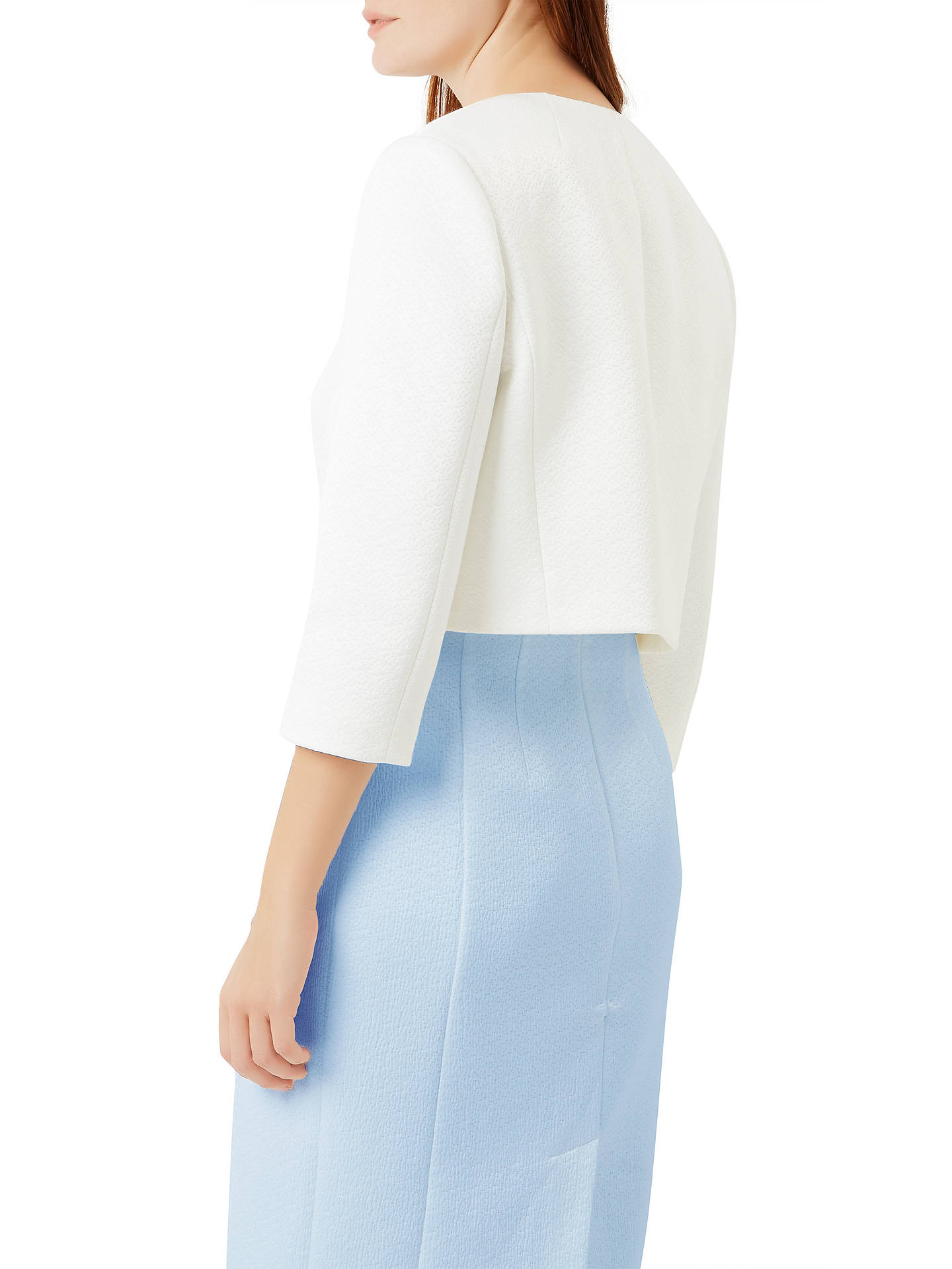 BuyFenn Wright Manson Nisha Jacket, Ivory, 8 Online at johnlewis.com