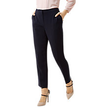 Buy Fenn Wright Manson Petite Harper Trousers, Navy Online at johnlewis.com