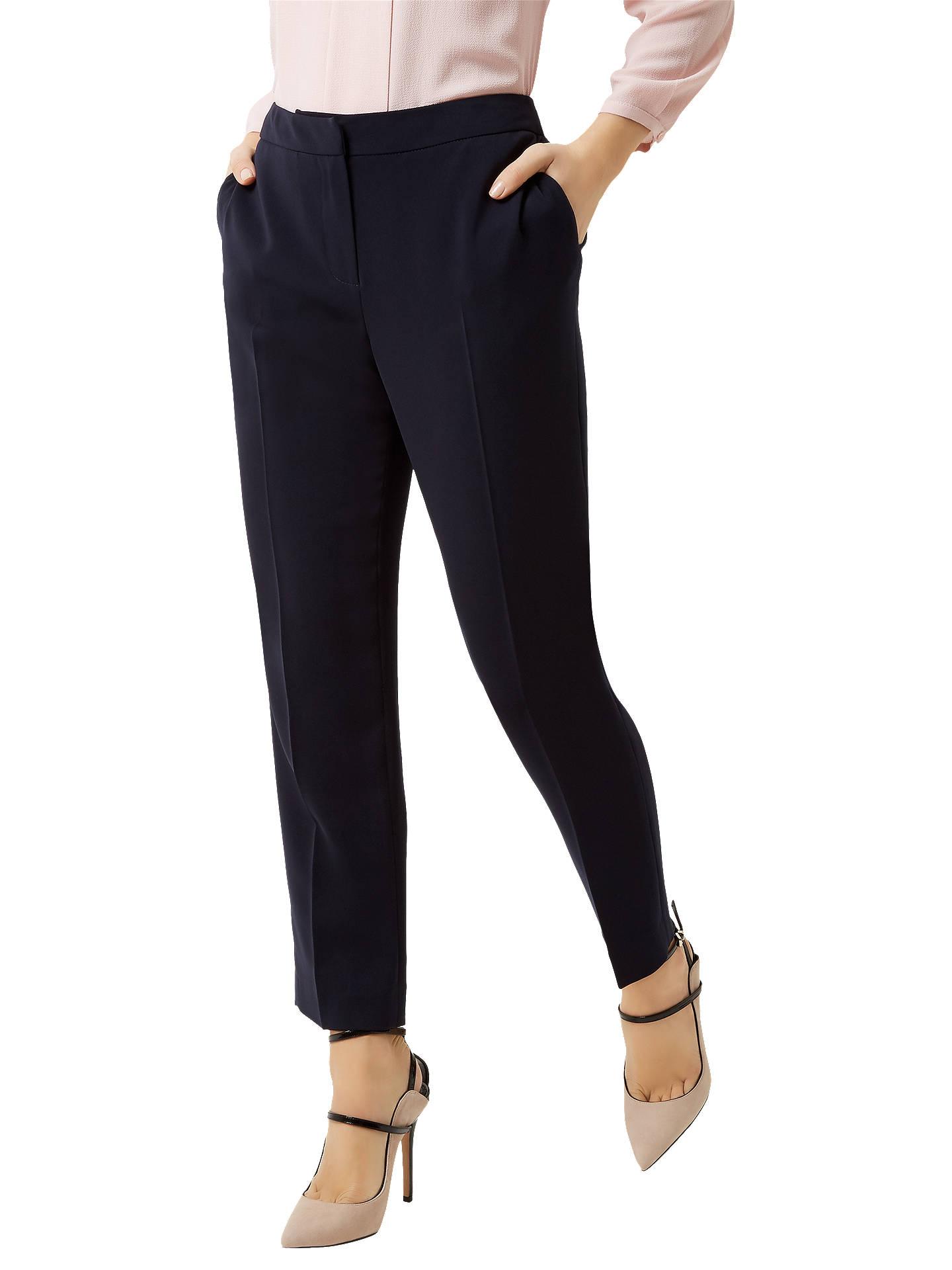 9c273bf79e28 Buy Fenn Wright Manson Petite Harper Trousers, Navy, 8 Online at  johnlewis.com ...