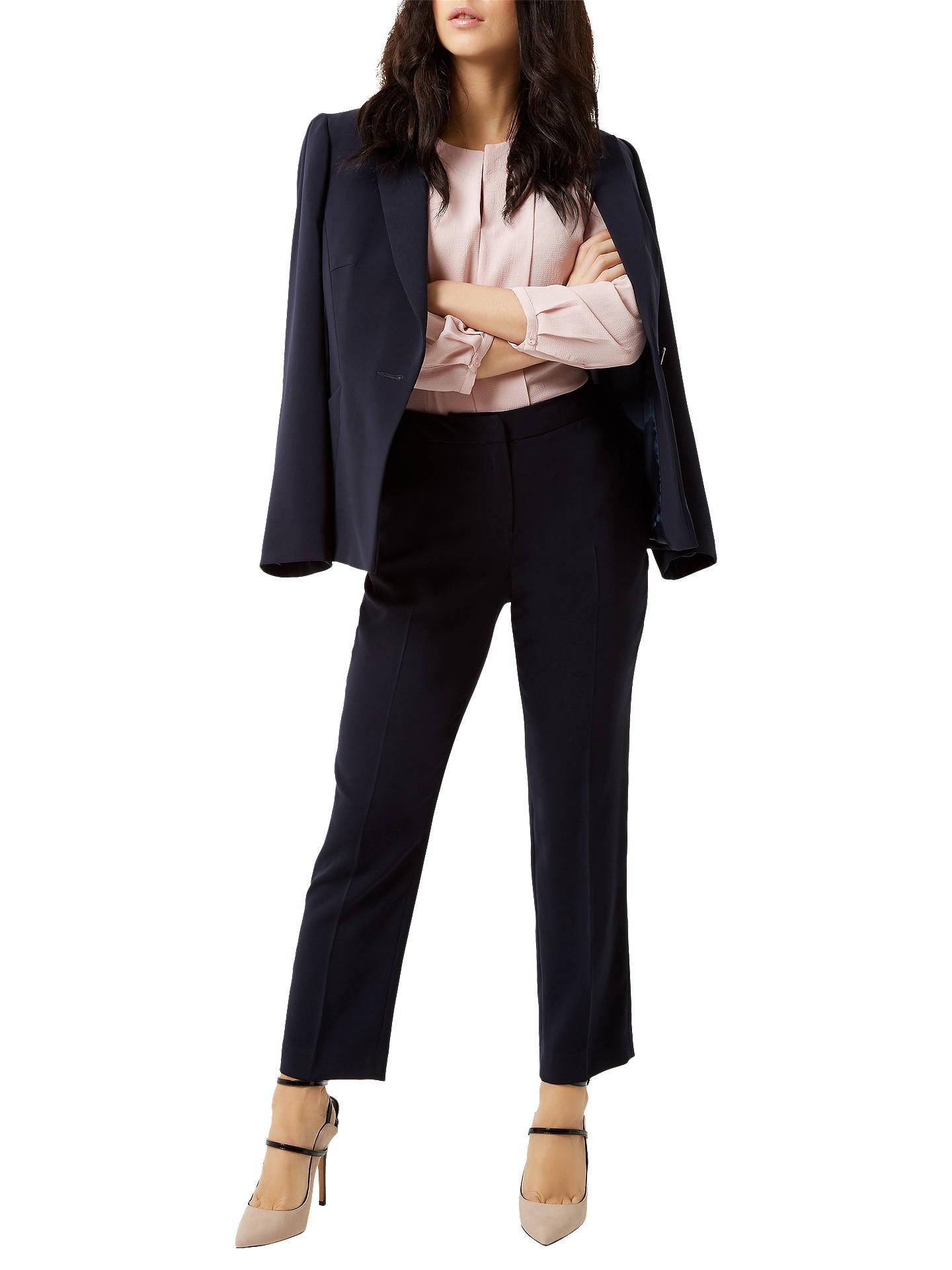 20f55edb3249 ... Buy Fenn Wright Manson Petite Harper Trousers, Navy, 8 Online at  johnlewis.com ...
