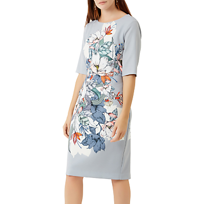 Fenn Wright Manson Hibiscus Print Dress, Multi