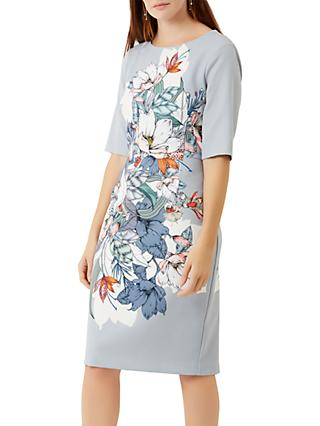 Fenn Wright Manson Hibiscus Print Dress, Multi