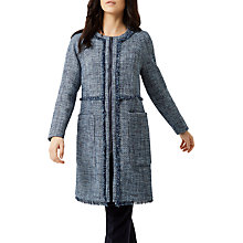 Buy Fenn Wright Manson Petite Natalie Coat, Navy Online at johnlewis.com