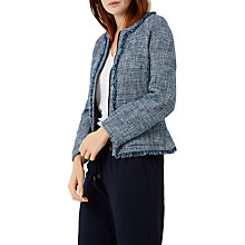Buy Fenn Wright Manson Natalie Jacket, Navy Online at johnlewis.com