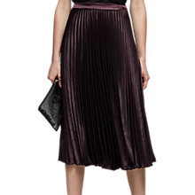 Buy Reiss Alisa Pleated Midi Skirt Online at johnlewis.com