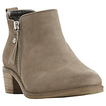 Buy Dune Putnam Block Heel Ankle Boots Online at johnlewis.com