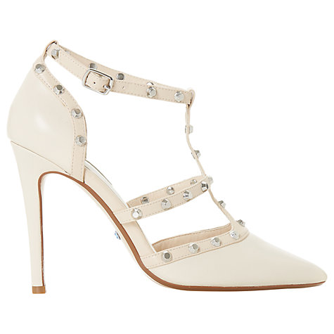 Buy Dune Daenerys Studded Cut Out Court Shoes Online at johnlewis.com