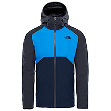 Buy The North Face Stratos Men's Jacket, Navy Online at johnlewis.com
