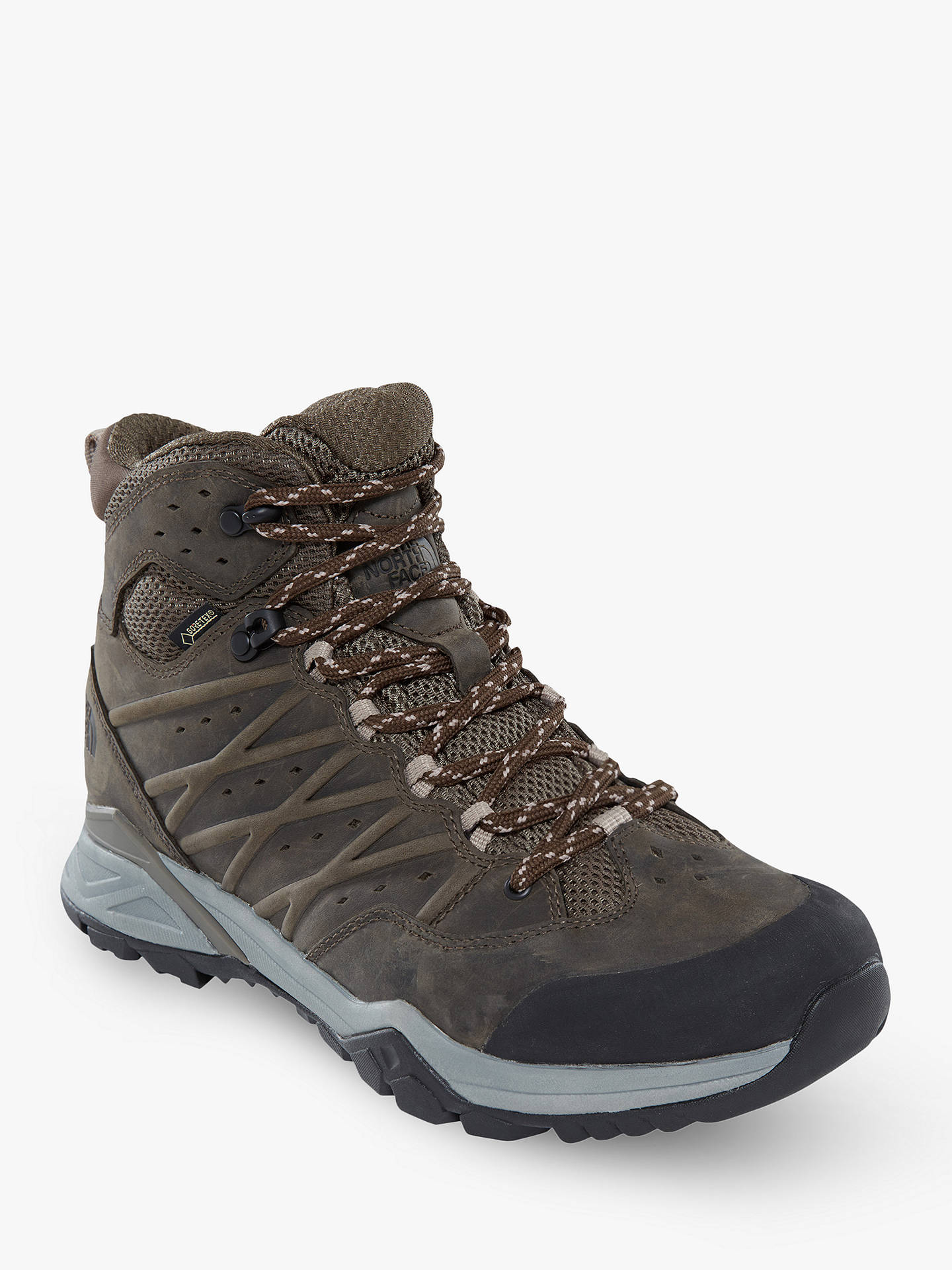BuyThe North Face Hedgehog Hike 2 Mid GORE-TEX Men's Hiking Boots, Green, 8 Online at johnlewis.com