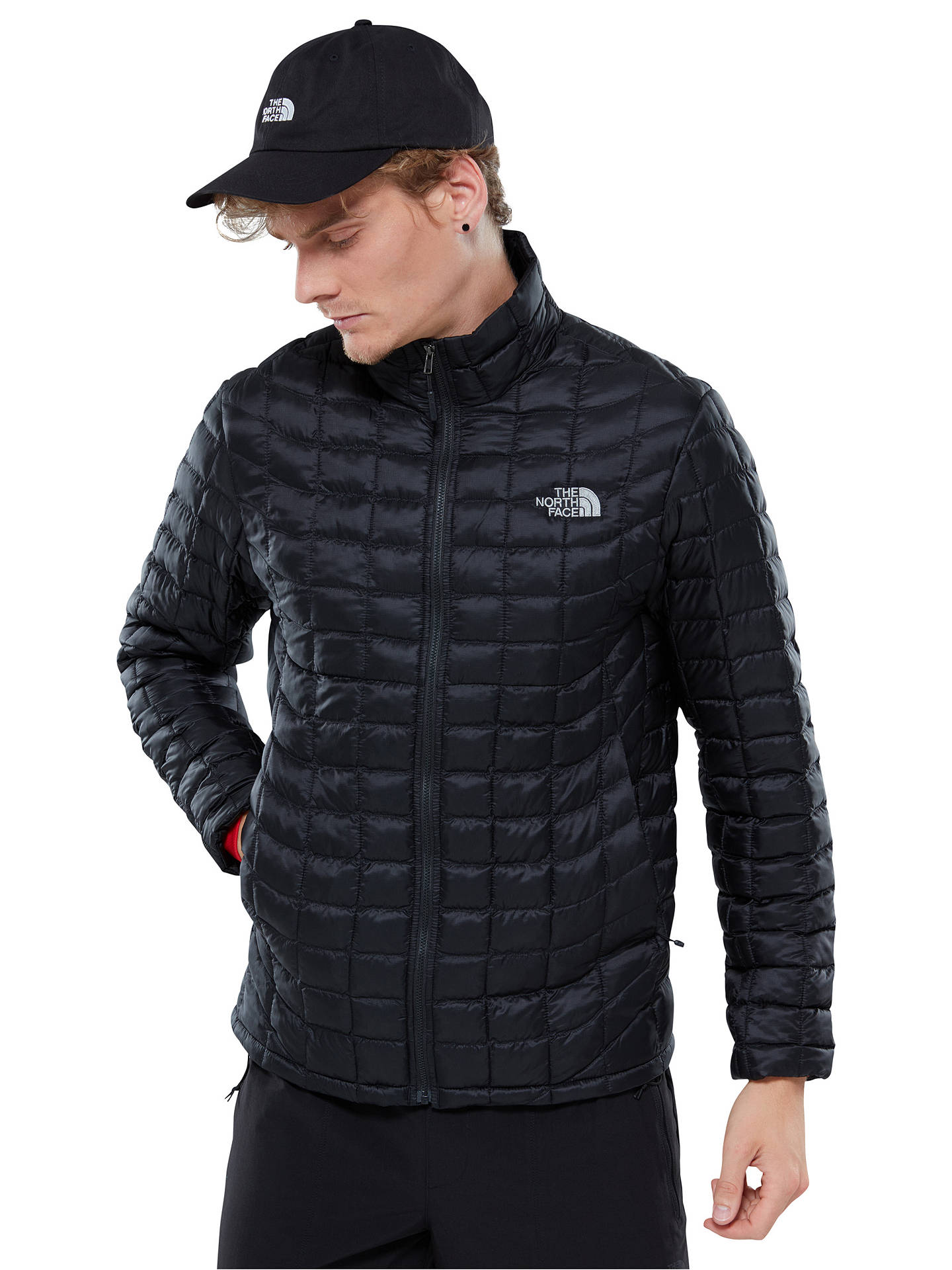 3a0c61683 The North Face Thermoball Full-Zip Men's Insulated Jacket, Black at ...