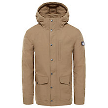 Buy The North Face Wax Canvas Utility Men's Jacket, Tan Online at johnlewis.com