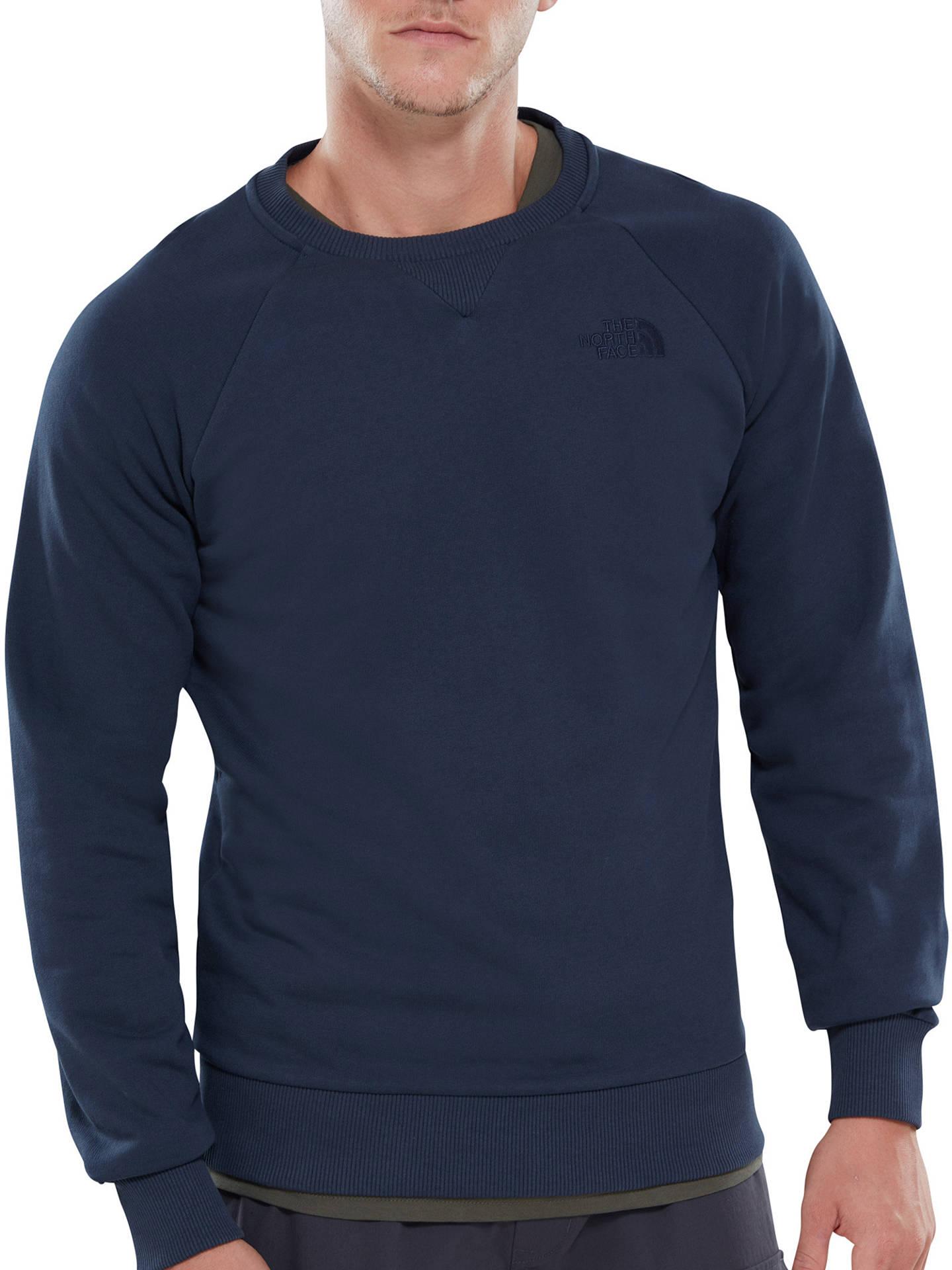 3e6e025b5 The North Face Raglan Sleeve Crew Sweatshirt at John Lewis & Partners