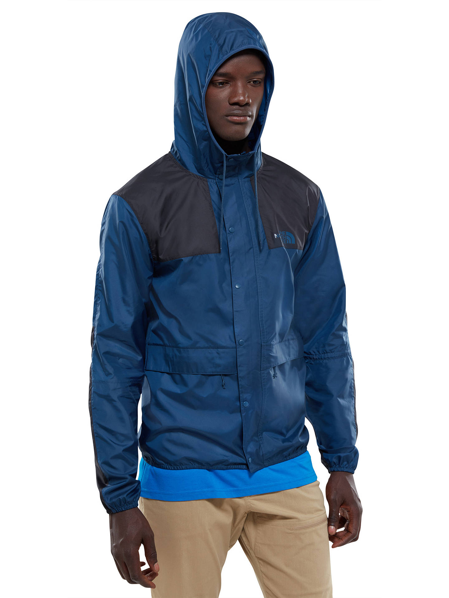 bbe61298e The North Face 1985 Mountain Men's Jacket, Blue at John Lewis & Partners